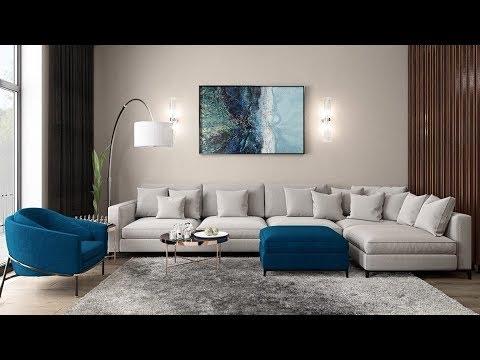 Interior Design Living Room Decorate Around Black Sofa 2019 Home Decorating Ideas Youtube