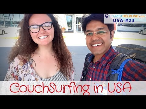 Couchsurfing USA | Culture, Hospitality, Farmer's Market, Village roads & SUNNY DEOL!!