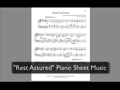 Piano Hymn Arrangment | Sheet Music | Fairest Lord Jesus