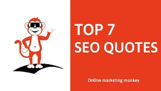 Top 7 inspirerende SEO Quotes