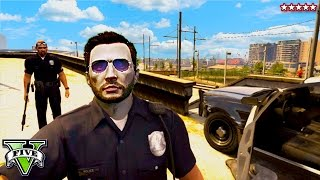 GTA 5 COP MOD!! Sheriff Hike in Epic Police Chase | GTA SUPER TROOPERS (GTA 5 Funny Moments)