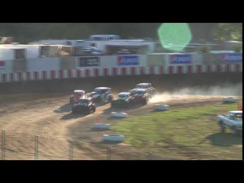 Legends Crash Angell Park Speedway 07 03 2016