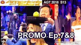PROMO America's Got Talent 2018 Promo Judge Cut sKen Jeong Guest Judge  AGT Season 13 Episode 7