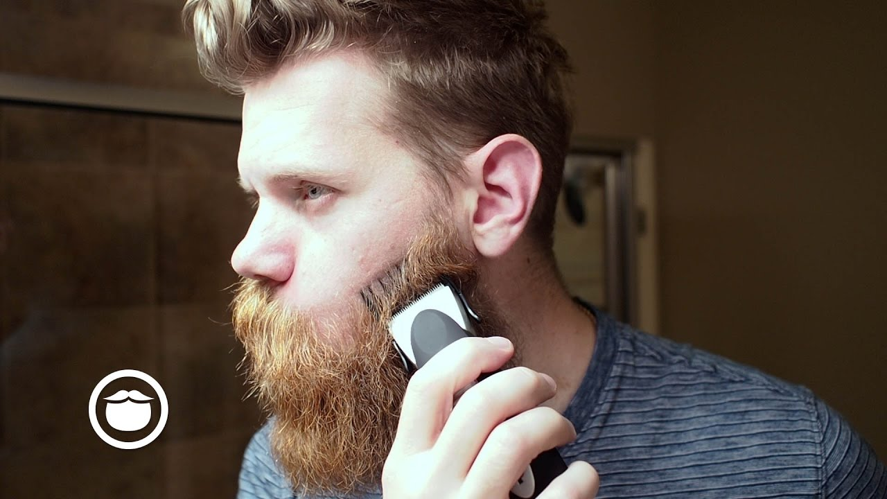 epic beard trim with clippers eric bandholz youtube. Black Bedroom Furniture Sets. Home Design Ideas