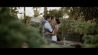 These Two ADORE Each Other - Megan and Jake's Intimate Orange County Farm Wedding