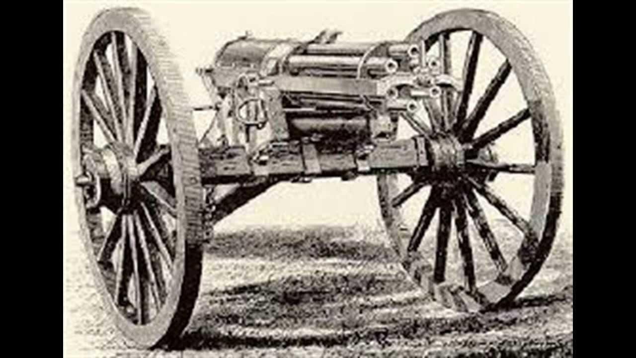 Civil War: Beyond The Battles-Gatling Gun - YouTube