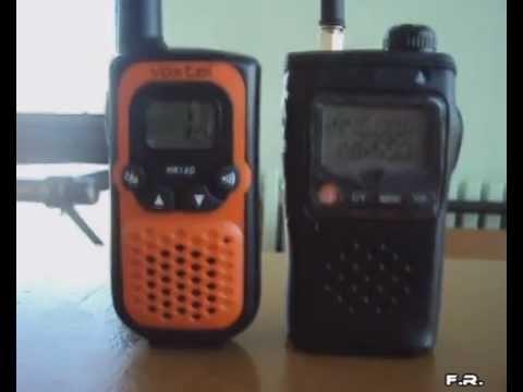 Test Baofeng UV 3R & Voxtel MR-160