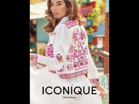 Пляжная одежда ICONIQUE 2020