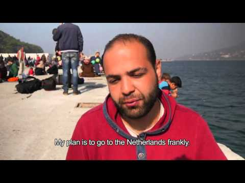MSF and Locals on Greek Islands Work to Help Refugees