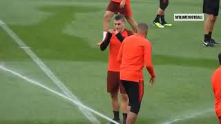 Funny Moments in Training ● Neymar, Mbappe, Ronaldo, Messi