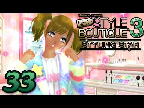 New Style Boutique 3 Styling Star ~ MAKEUP BEAUTICIAN UNLOCKED Part 33 ~ Gameplay Walkthrough