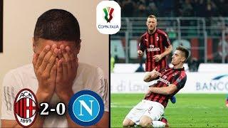 AC MILAN 2-0 NAPOLI REACTION | Coppa Italia 2019