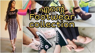 MY FOOTWEAR COLLECTION|Huge affordable shoe collection|Amazon,Flipkart, Nykaa Fashion|Asvi Malayalam