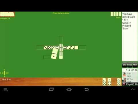 Dominoes GC Online - play dominoes with real players on android phones and android tablets