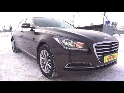Фото к видео: 2014 Hyundai Genesis 3.0 GDI. HTRAC. Обзор (интерьер, экстерьер, двигатель).