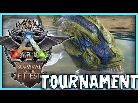 ARK: Survival Evolved - Survival Of The Fittest! TOURNAMENT!