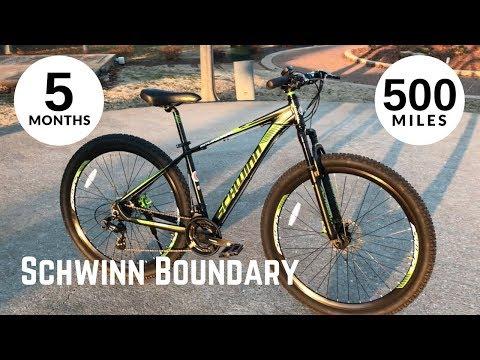 Walmart Schwinn Boundary 29 after 5 months and 500 miles