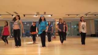Bollywood Song Practice---Kamli (Movie:Dhoom 3) @ CWB Myoga *Final Take