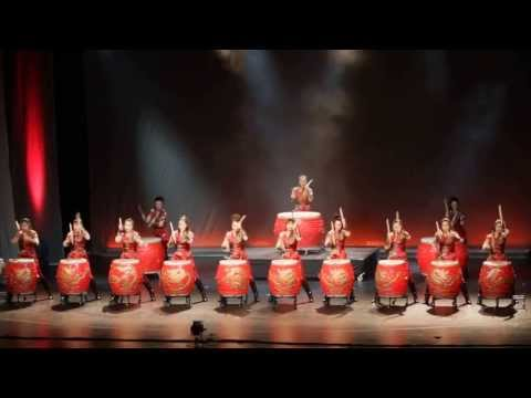 Manao Drums of China Power Girls