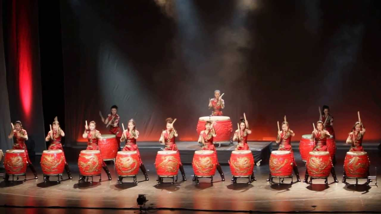 Manao Drums Of China Power Girls - Youtube-4749
