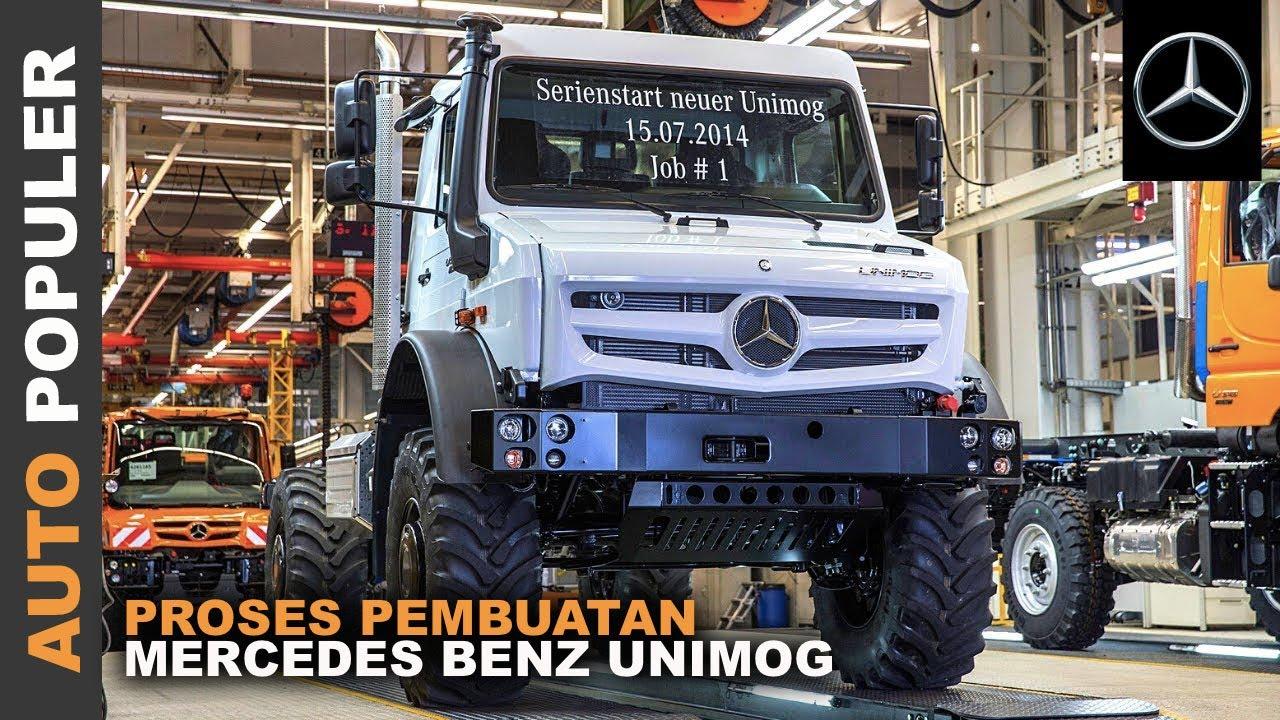 Truk Serba Bisa! Intip Proses Pembuatan Mercedes Benz Unimog Dari Awal Hingga Akhir