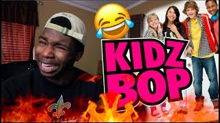 REACTING TO KIDZ BOP SONGS PT. 2 *i called the police*