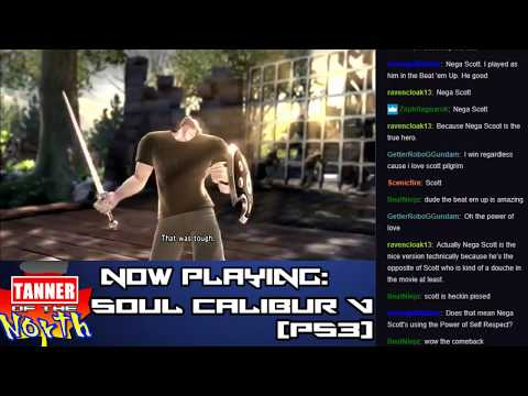 Let's Stream Soul Calibur V - Create-A-Character Salty Bet!