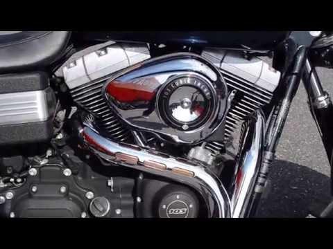 2012 Harley - Davidson FXDF Dyna Fat Bob in Big Blue Pearl