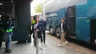 Sevilla Espanyol: Llegadas de Ambos Equipos al Ramón Sánchez Pizjuán