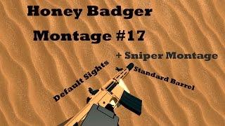 Roblox Phantom Forces Honey Badger + Sniper Montage