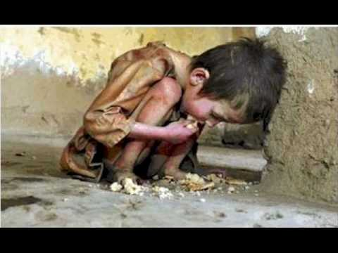 Poor children around the world