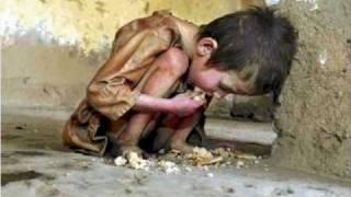 Poor children around the world
