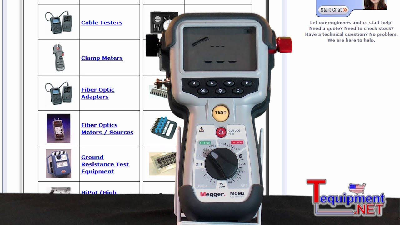 Hand Held Ohmmeter : Megger mom hand held a micro ohmmeter youtube