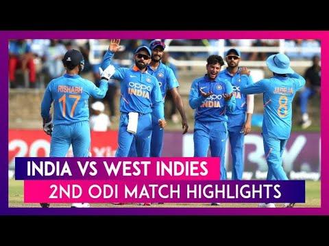 ind-vs-wi-2nd-odi-full-highlights-2019- -india-vs-west-indies-2nd-odi-2019-highlights-l-scorecard-hd