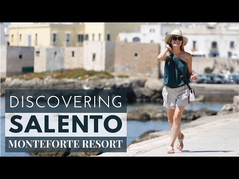 Discovering Salento with Monteforte Resort | Ugento, Puglia (Italy)  ENGLISH SUBTITLES
