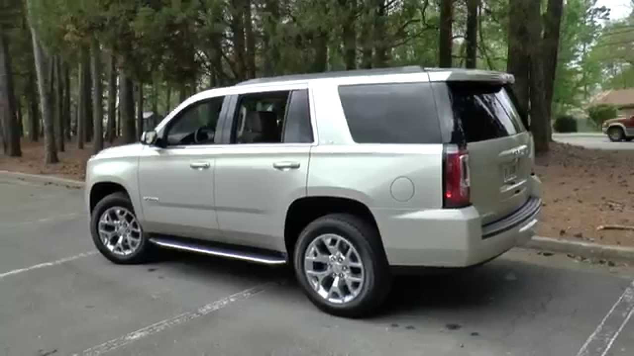 Gmc Yukon Xl Denali >> Best 2015 GMC Yukon 4WD SLT, Detailed Walkaround - YouTube
