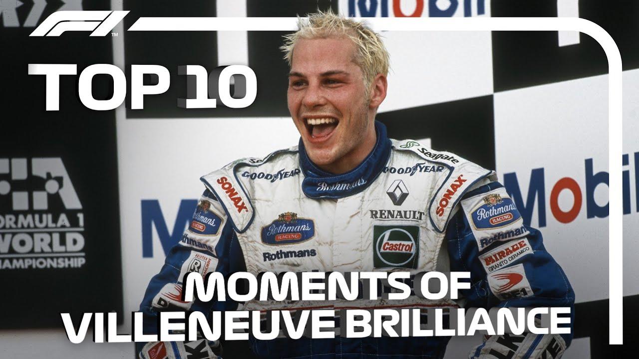 Top 10 Moments of Jacques Villeneuve Brilliance