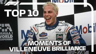 Top 10 Moments of Jacques Villeneuve Brilliance