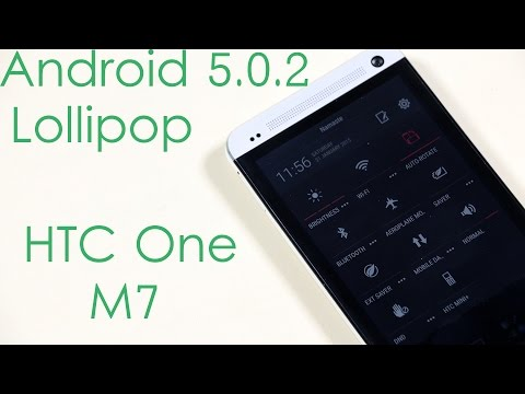 HTC One (M7) - Android 5.0 Lollipop (ARHD Rom) - Installation & What