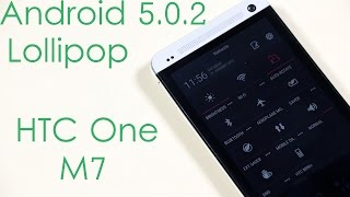 HTC One (M7) - Android 5.0 Lollipop (ARHD Rom) - Installation & What's New ?