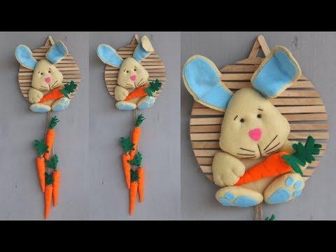 Popsicle stick crafts || Diy kerajinan dari stik eskrim dan kain flanel