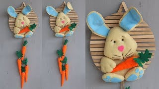 Popsicle stick crafts    Diy kerajinan dari stik eskrim dan kain flanel
