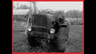 Мой  Самодельный Дизельный Трактор HD