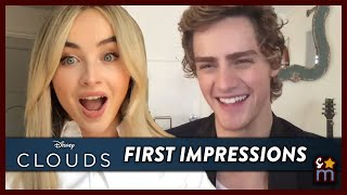 Sabrina Carpenter & Fin Argus Reveal First Impressions & Talk CLOUDS | Exclusive Interview