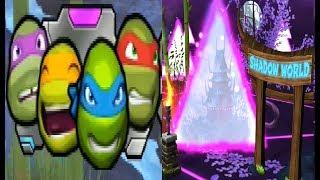 Черепашки Ниндзя Сила порталов 9 мультик игра TMNT Portal Power Мобильные игры