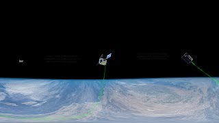 Testing Small Spacecraft Communications Technology (360° Animation)