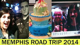 Hawaiian Surprise Party | Memphis Road Trip 2014 (Vlog 84)
