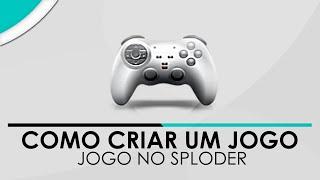 Como criar um jogo online com Sploder