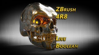 Zbrush 4R8 Live Boolean