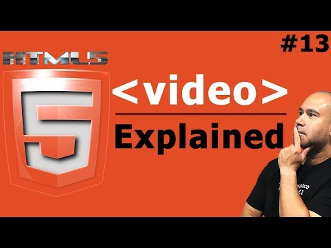 How To Embed Video In HTML - Video Tag Explained - Tutorial For Beginners